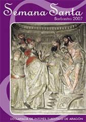 Boletín Semana Santa Barbastro 2007 portada