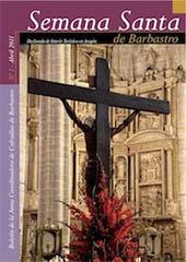 Boletín Semana Santa Barbastro 2011 portada
