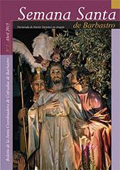 Boletín Semana Santa Barbastro 2015 portada