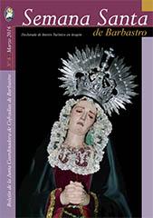 Boletín Semana Santa Barbastro 2016 portada