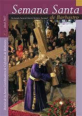 Boletín Semana Santa Barbastro 2017 portada