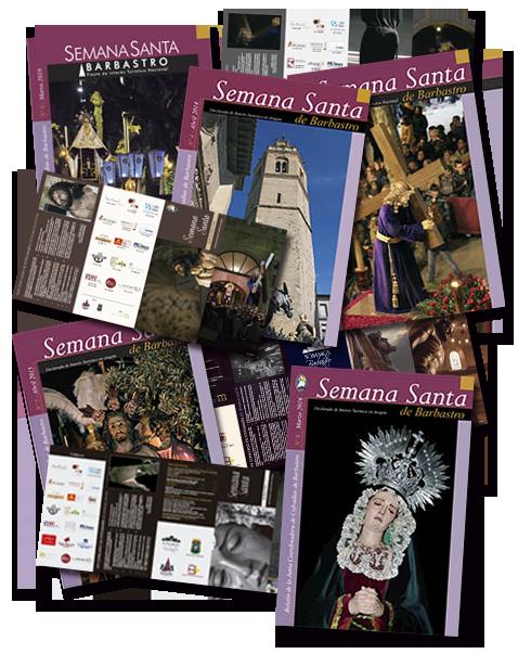 Portadas de Boletines y Programas Semana Santa Barbastro