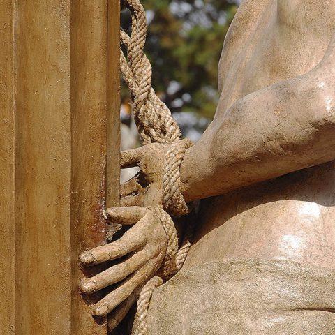 Jesús atado a la Columna - Semana Santa Barbastro