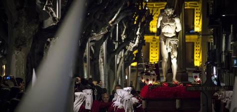 Jesús Atado a la Columna