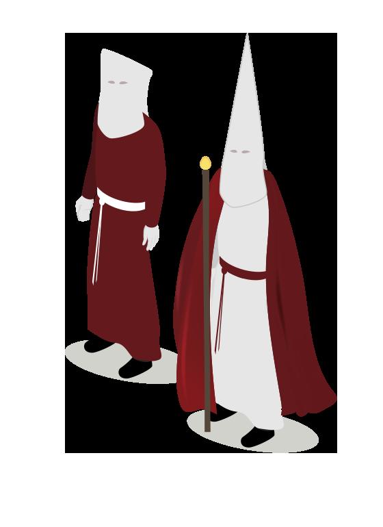 Hábito Cofradía de Jesús atado a la Columna