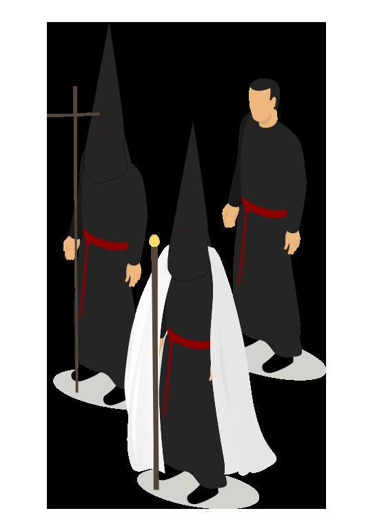Hábito Cofradía Santo Sepulcro