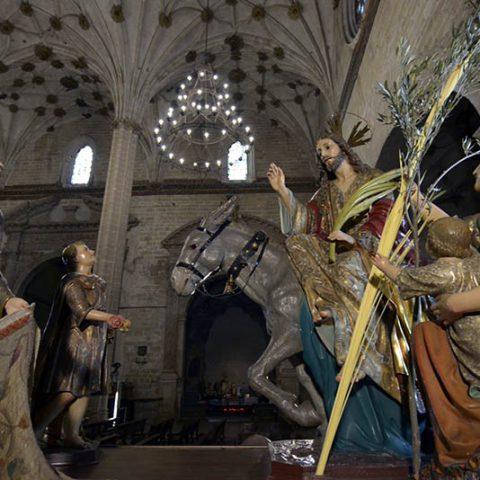 La Entrada triunfal de Jesús en Jerusalén - Semana Santa Barbastro