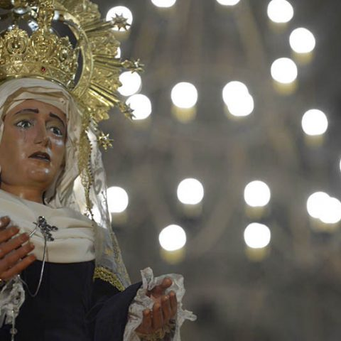 Virgen de la Amargura - Semana Santa Barbastro