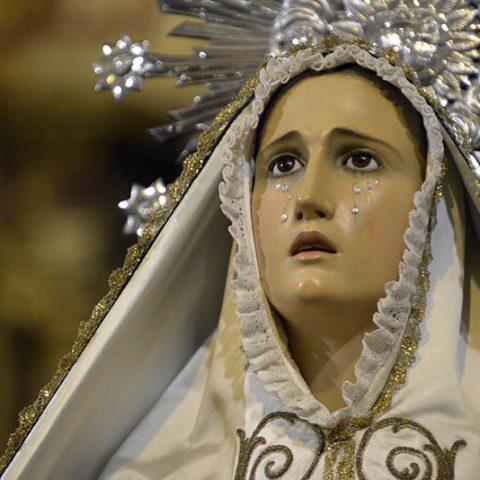 Virgen de los Dolores - Semana Santa Barbastro