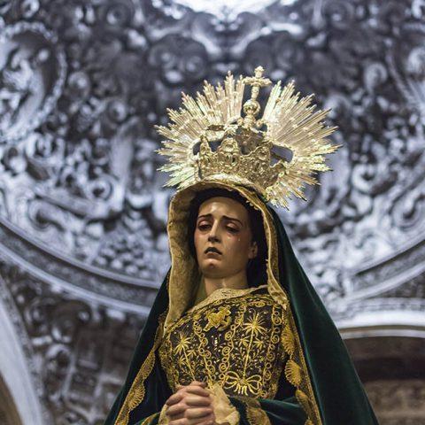 Virgen de la Esperanza - Semana Santa Barbastro