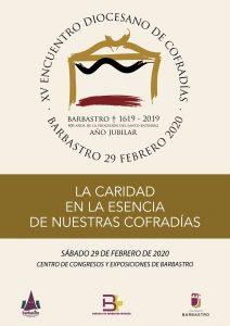 XV Encuentro Diocesano de Cofradías 2020 - Cartel