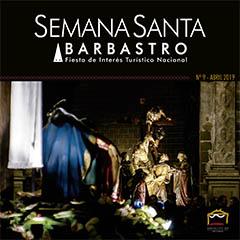 Boletín Semana Santa Barbastro 2019 portada