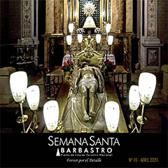 Boletín Semana Santa Barbastro 2020 portada