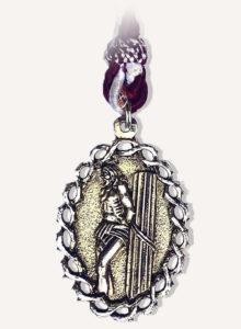 Medalla Cofradía de Jesús atado a la Columna