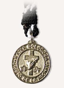 Medalla Hermandad del Santo Cristo de la Agonía y Nuestra Madre Dolorosa