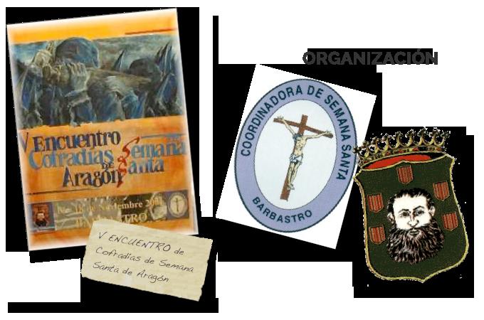 V Encuentro de Cofradías de Semana Santa de Aragón 2001 portada