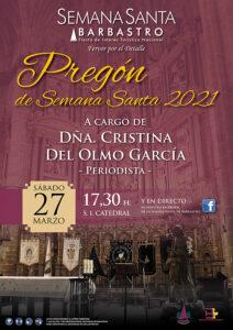 Cartel Pregón de Semana Santa 2021